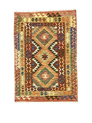 Eden Teppich Kilim-P braun/mehrfarbig 105 x 153 cm