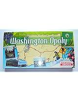 Washington Opoly Washington State Monopoly Game With 6 Unique Tokens