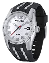 Police Analog White Dial Men's Watch - PL12557JS/01