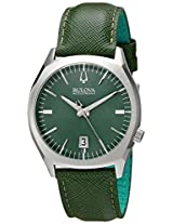 Bulova Accutron II Analog Green Dial Men's Watch - 96B211