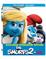 The Smurfs 2 in 3D Exclusive Steelbook Edition