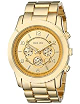Breda Women's 2308-Gold Jordan Oversized Boyfriend Gold Watch
