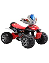 Brunte Battery operated Rideon ATV Hauler 22 Red
