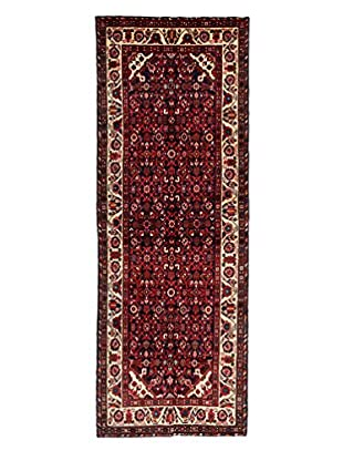 Darya Rugs Authentic Persian Rug, Black, 3' 9
