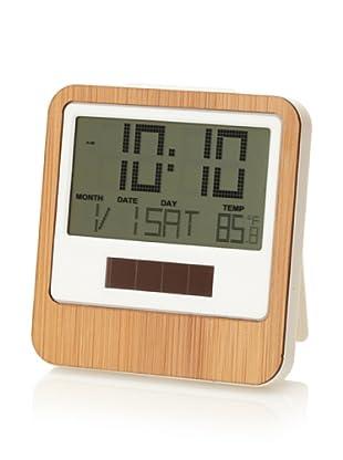 Lexon Safe Bamboo Travel Clock, Bamboo
