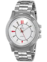 Optima Analog White Dial Men's Watch - FT-ANL-2494