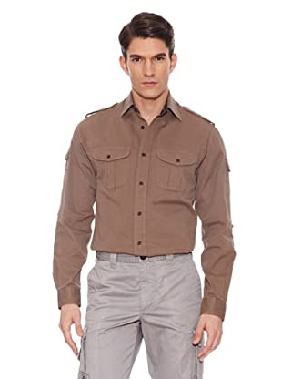 Hackett Camisa Lisa (Marrón)