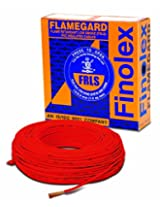 Finolex 6.0-Sqmm Flame Retardant Low Smoke and Halogen Cable (Red)