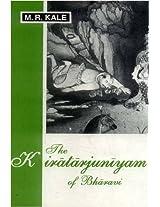 The Kiratarjuniyam of Bharavi: Cantos I-III (Text, Eng. Tr. & Introd.)