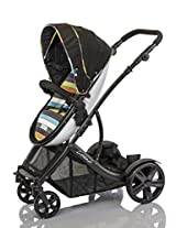guzzie+Guss Connect+4 Stroller, Stripe