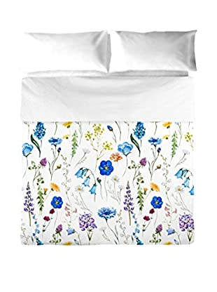 Pure Elegance Juego De Funda Nórdica Sapphire Azul Cama 135/140 (220 x 220 cm + 45 x 155 cm)
