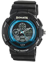 Sonata  Analog-Digital Black Dial Men's Watch -  7997PP04J