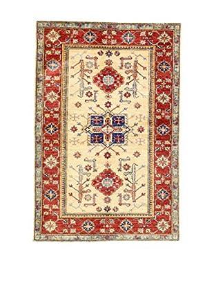 Eden Teppich Kazak Super rot/beige/blau 104 x 152 cm