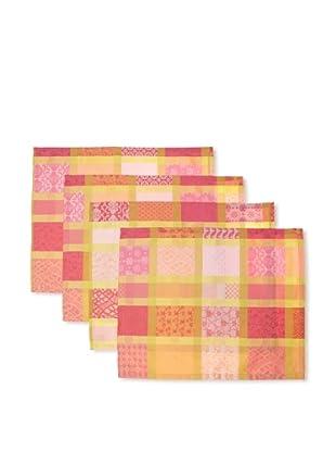 Garnier-Thiebaut Set of 4 Mille Ladies Placemats (Pivoine)