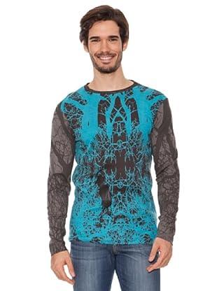 Desigual Camiseta El Liprel (Ceniza)