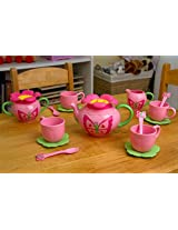 Toy / Play Melissa & Doug Bella Butterfly Tea Set. Plastic, Durable, Pot, Kitchen, Cups, Pretend, Toy, Playset Game / Kid / Child