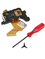 Hde Complete Disk Read Error Fix Kit For Nintendo Wii Gaming System Replacement Laser Lens + Tri Wing Y Tip Screwdriver
