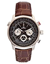 Rotary Brown Leather Men Analog Watch GS0010004BRN