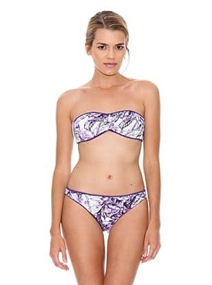 Monoplaza Bikini Bando (Morado)