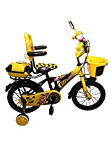 HLX-NMC KIDS BICYCLE 14 BOWTIE YELLOW/BLACK