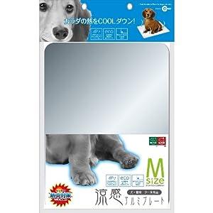 【クリックでお店のこの商品のページへ】(株)マルカン 犬用・猫用 涼感 アルミプレート 【M】 40cm×30cm