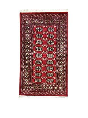 L'EDEN DEL TAPPETO Alfombra Kashmir L/Australia Rojo/Multicolor 92 x 158 cm