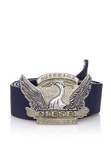 Diesel Men's Crivella Belt (Navy)