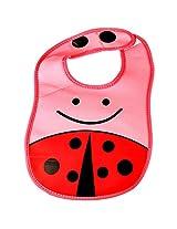 Lilsta Waterproof Baby Bib (Pink)
