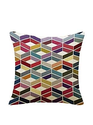 SuperStudio Funda De Cojín Geometry 45X45 Multicolor