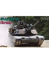 Dragon Models 1/35 M1A2 SEP V2 (System Enhanced Program) Vehicle Model Building Kit