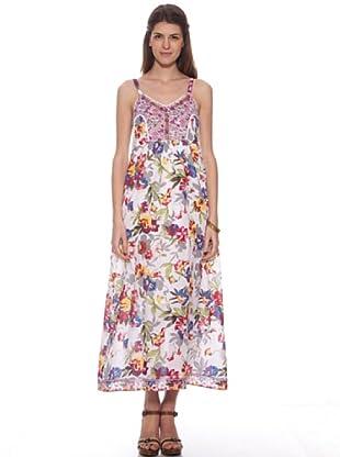 HHG Kleid Acacia (Weiß / Rot)