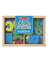 Melissa & Doug 448 Magnetic Wooden Alphabet