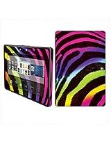 BlackBerry Playbook Vinyl Protection Decal Skin Rainbow Zebra