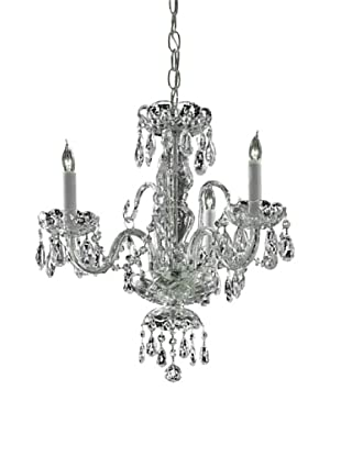 Gold Coast Lighting Venice Chandelier, Chrome