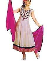 Wpd6546 : Alluring Casual Wear Anarkali Suit