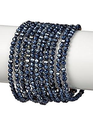 Nakamol Crystal Multi-Strand Bracelet