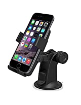 iOttie HLCRIO102 One Touch Windshield Dashboard Universal Car Mount Holder for iPhone 4S/5/5S/5C, Galaxy S4/S3/S2, HTC One DROID RAZR HD - Retail Packaging - Black