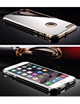 ProElite Luxury Ultra Thin Acrylic Mirror Aluminum Metal Frame Bumper Housing Case Cover For Apple iphone 6 4.7