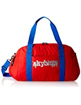 Skybags Fabric Red Gym Bag (FSGRIBRED)