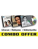 Rabindra Sangeet Combo-4 Uttaran + Rabiyana + Mohorkonika