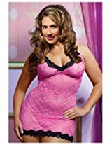 Babydoll Dress With Matching G-String