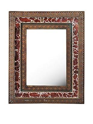 Bombay Company Mosaic Metal Wall Mirror