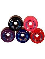 Jonex Skating Roller Professional Wheel with Ball Bearing (Pack of 8)