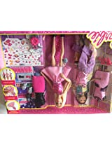 Barbie Doll Fashion Activity Doll - Pack of 1, 3M+