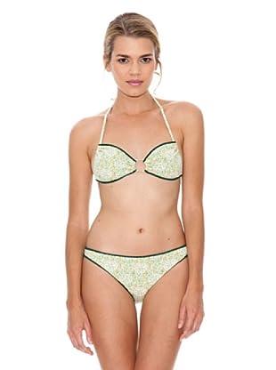 Monoplaza Bikini Santorini (Verde)
