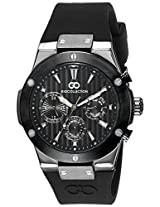 Gio Collection Analog Black Dial Men's Watch - G1010-04
