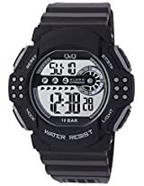 Q&Q Regular Digital White Dial Men's Watch - M128J002Y