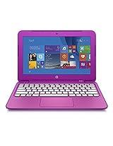 Hp Stream 11.6 Inch Laptop, Intel N2840 2.16Ghz Dual-Core, 2Gb Ddr3L, 32Gb Solid State Drive, Windows 8.1, Magenta - Certified Refurbished