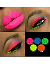 5 MYO Ultra Bright Remix Shimmer Color Set Eyeshadow Pigment Mica Cosmetic Mineral Makeup Limited Color Edition...