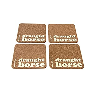 Verry India Draught Horse - Set of 4 coasters ( Cork )